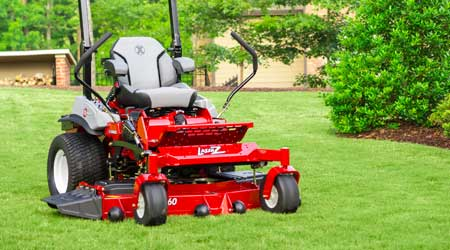 Suspended Operator Platform Launched for Mower Fleet: Exmark Mfg. Co. Inc.