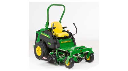 Zero-Turn, Diesel Mower Features More Horsepower: John Deere Co.
