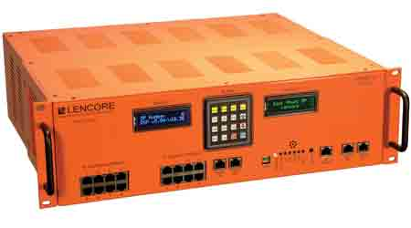 Communication System Creates Coverage up to 6 Million Square Feet Per System: Lencore