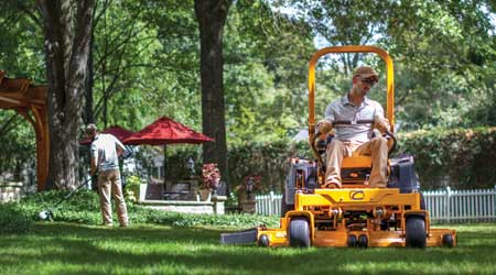 Zero-Turn Mower Series Features Fuel-Injected Engines: Cub Cadet