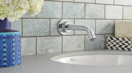 Sensor Faucets Designed for High-End Commercial Applications: American Standard