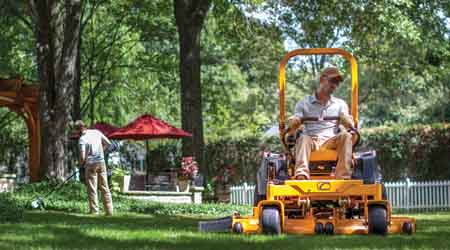 Zero–Turn Mower Features Powerful Engine Options: Cub Cadet