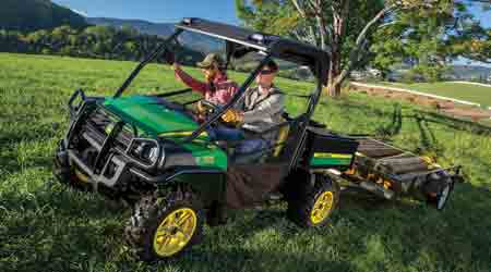 Utility Vehicle Features Durability, Increased Storage Area: John Deere