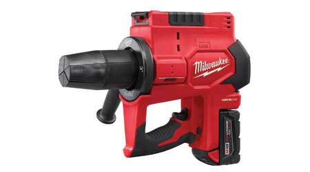 Cordless Tool Expands Pipes for Easier Installation: Milwaukee Tool