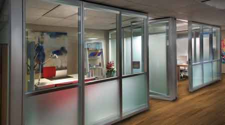 Glass Wall System Suits Specifics for many Space-Management Situations: Modernfold