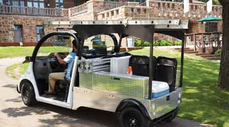 Electric Utility Vehicle Helps Reduce Cost of Ownership for Grounds Managers: Polaris Industries Inc.
