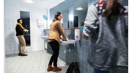Intelligent Restroom System Joins Internet of Things Trend: SCA