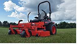 Zero-Turn Mowers: Kubota Tractor Corp.