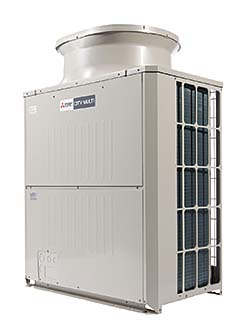 Variable Refrigerant Flow Units: Mitsubishi Electric and Electronics USA Inc., HVAC