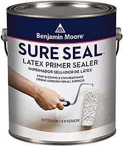 Primer sealer: Benjamin Moore & Co.