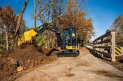 Compact excavators: John Deere