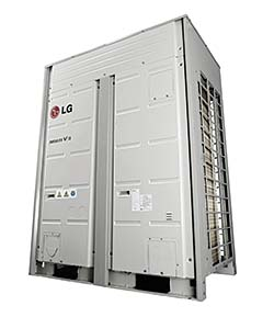 Variable-refrigerant-flow units: LG Corp.