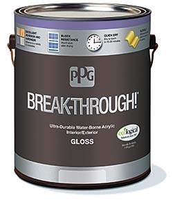 Interior and exterior paint: PPG Architectural Coatings Inc.