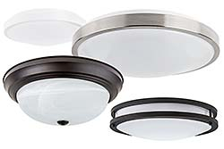 Ceiling fixtures: Super Bright LEDs Inc.