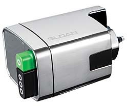 Flushometer: Sloan Valve Co.