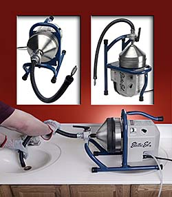 Counter-Top Drain Cleaner Provides Powerful Cleaning: Electric Eel Manufacturing