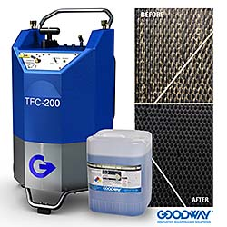 Machine Cleans HVAC Systems' Cooling Towers: Goodway Technologies Corp.