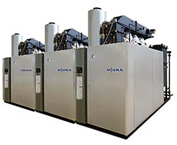Compact, On-Demand Steam Boiler Improves HVAC Efficiency: Miura North America Inc.