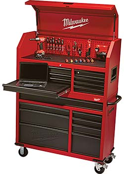 Chest and Cabinet Provides Storage for Hand, Electric Tools: Milwaukee Electric Tool Corp.