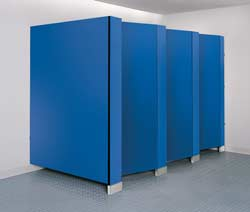 Door and Panels Answer Restroom Partition Privacy Needs: Bobrick Washroom Equipment Inc.
