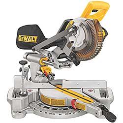 Cordless Miter Saw Provides Versatility, Convenience on Job: DeWALT Industrial Tool Co.