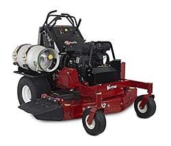 Propane-Fueled Stand-On Mower Reduces Fuel Consumption by 40 Percent: Exmark Mfg. Co. Inc.