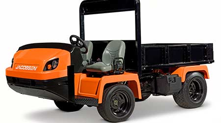 Heavy-Duty Utility Vehicle Helps Improve Worker Efficiency: Jacobsen, a Textron Co.