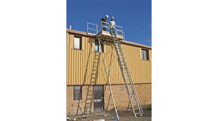 Work Platform System Provides Access to Indoor, Outdoor Spaces: Kee Safety Inc.