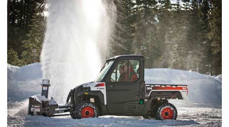 Utility Vehicles Offer Expanded Attachment Possibilities: Bobcat Co.
