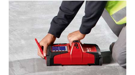 Radar Detection Scanner Helps Reveal Objects in Concrete Structures: Hilti Inc.