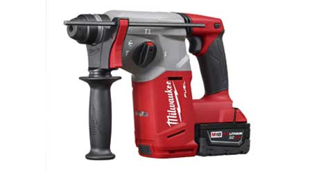 Battery-Powered Rotary Hammer Increases Efficiency: Milwaukee Electric Tool Corp.