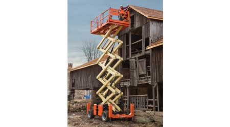 Scissor Lift Provides Reach for Commercial Maintenance Crews: JLG Industries Inc.