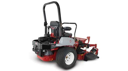 Suspended Operator Platform Reduces Impact of Bumps on Mowers: Exmark Mfg. Co. Inc.