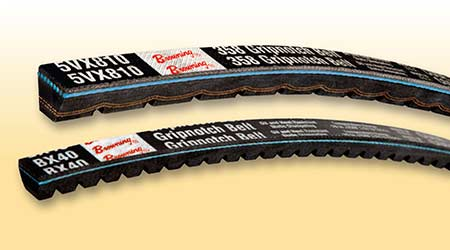 V-Belts Provide Heat-Resistance Advantages: Browning