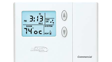 Programmable Thermostat Offers Flexible Project Options: Lennox Industries Inc.