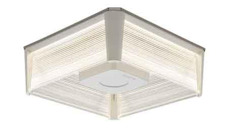 LED Parking Garage Luminaire Reduces Glare: Cree