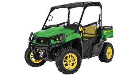 Utility Vehicle Series Provides Durability for Grounds Managers: John Deere