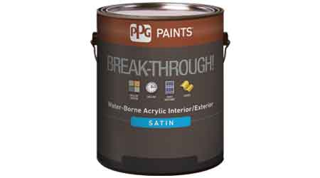 Interior Paint Bonds With Most Difficult Substrates: PPG