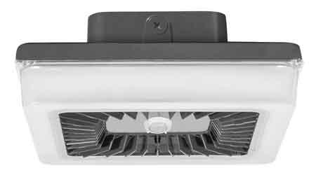 LED Garage Fixture Offers Lighting Control Levels: RAB Lighting