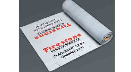 Roofing Underlayment Combines Self-Adhering, Waterproof Options: Firestone Building Products