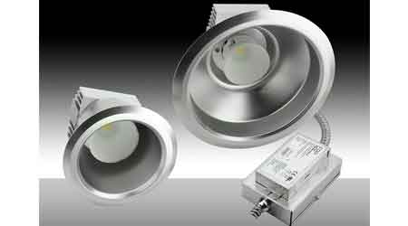 LED Downlights Upgrade Commercial Interior Lighting: MaxLite