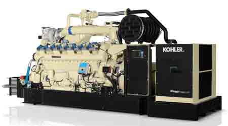 Natural Gas Generator Line Introduced: Kohler Power Systems