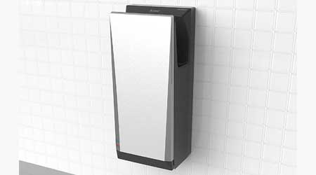 Hand Dryer Features Reduced Noise, Energy Use: Mitsubishi Electric