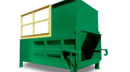Trash Compactor Features Automatic Maintenance Scheduling: Wastequip