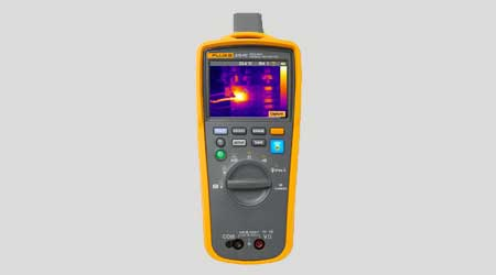 Tool Combines Thermal Imaging, Multimeter Capabilities: Fluke Corp.