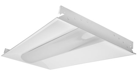 LED Troffers Offer Dimming and Motion-Sensing Capability: Forest Lighting
