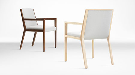 Wood Chairs Constructed from Bio-Material: Gunlocke