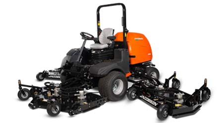 Lightweight Rotary Mower Can Mow More than 20 Acres Per Hour: Jacobsen