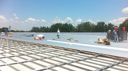 Metal Roof System Designed for Retrofit Over Existing Slope or Flat Roofs: Metal Sales Manufacturing Corp.