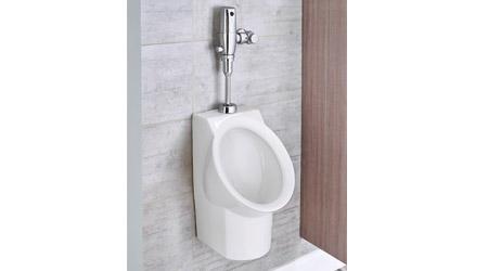 Pint Urinal Meets Strictest of Water Regulations: American Standard